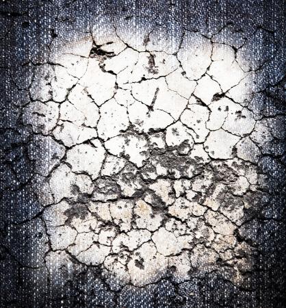 Cracked crement texture Stock Photo - 9513027
