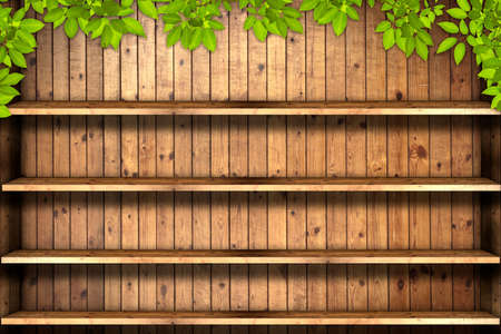 Wooden book Shelf  photo
