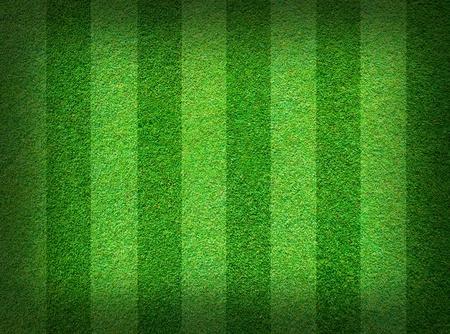 pasto sintetico: Fondo de campo real verde c�sped Foto de archivo