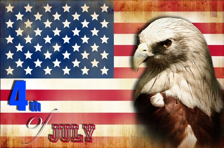 Happy 4th July independent day of America photo