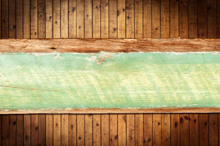 Old grung column Wood Texture and wooden sign with copy space for your background Stock Photo - 9646421