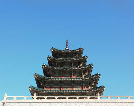 ancient palace in south korea Stock Photo - 9733632