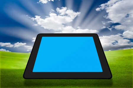 Modern tablet PC (Touch Pad) Stock Photo - 9733701