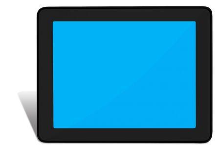 Modern tablet PC photo