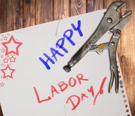 Happy labor day photo