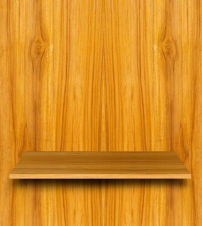Wooden shelf for modern smart phone application Stock Photo - 10706830