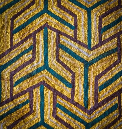 Abstract Thai style vintage background photo