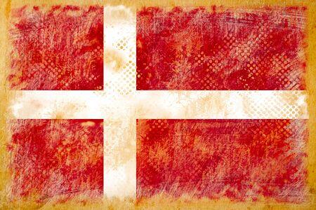 british flag grunge  on old vintage paper photo