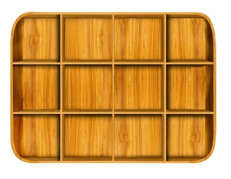 Wooden house shelf  Stock Photo - 11832427