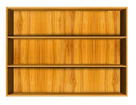 Wooden house shelf  photo