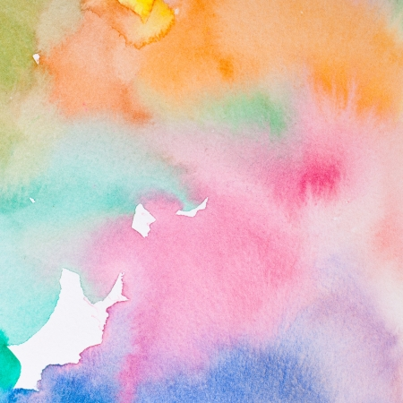 Aquarell: Abstract Wasser Farbe