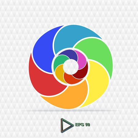 abstract aperture: Aperture Color Wheel 3D. See my portfolio for more color wheels