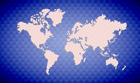 business backgound:  blue texture map background Stock Photo