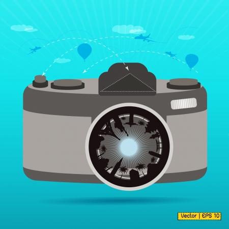 pise: camera lens