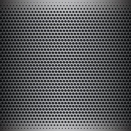 fibra de carbono: superficie de metal cromado, fondo Foto de archivo