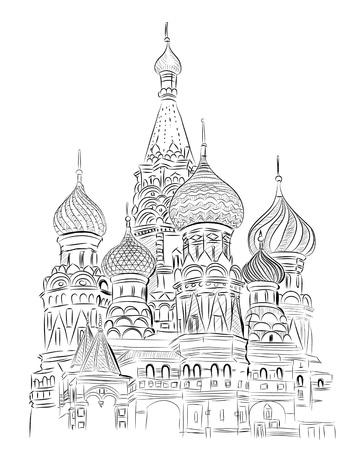 kremlin: Wereld beroemde bezienswaardigheid collectie: St. Basil, Moskou