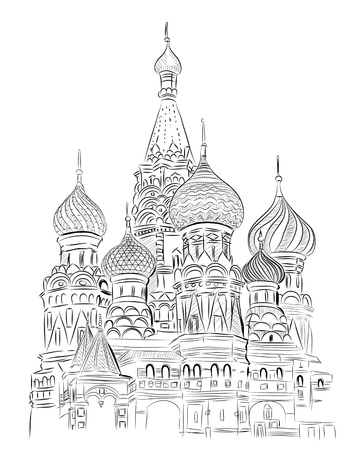 moscow churches: World famous landmark collection : St. Basil, Moscow