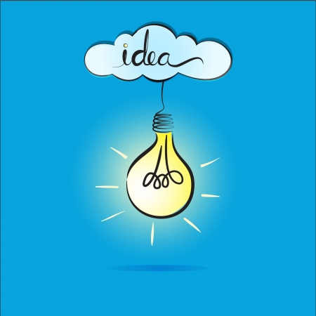 idea light bulb photo