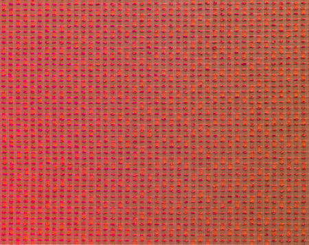 crosshatched: Textile red