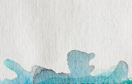 embauches fermer la peinture à l'aquarelle sur papier aquarelle texture en utilisant pour le fond