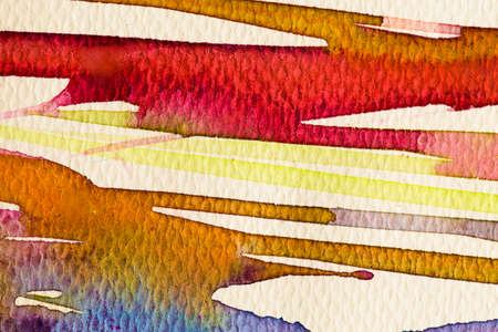 water color painting: hires close up water color painting on watercolor paper texture using for background