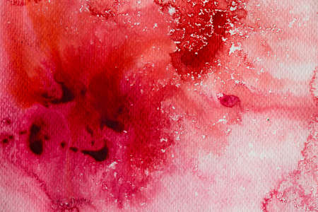 water color painting: hi-res close up water color painting on watercolor paper texture using for background