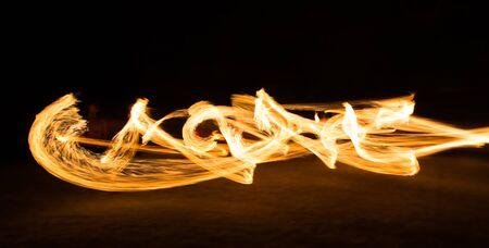 starter: Amazing Fire Show at night on samet Island Thailand