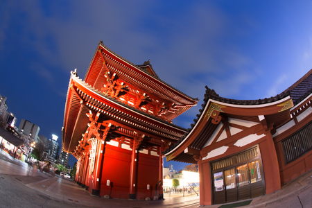 asakusa: Senso-ji Temple, Asakusa, Tokyo, Japan Editorial