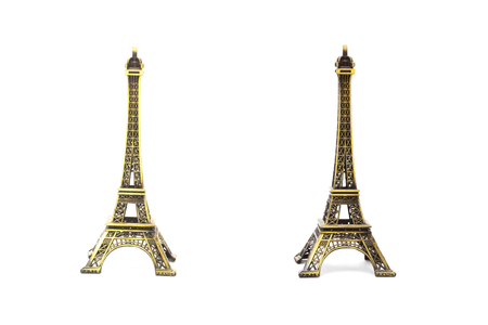 The Eiffel Tower is in beautiful Paris.