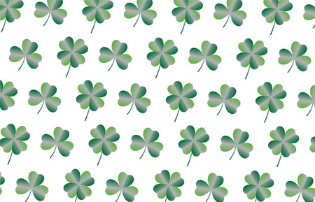 Concept background, St. Patricks Day greeting cards with happy letters, illustrations - vector Illustration