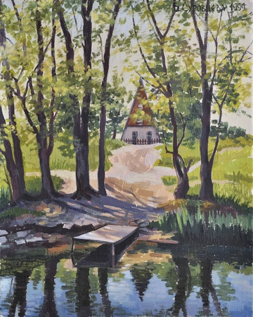 Huis aan de rivier