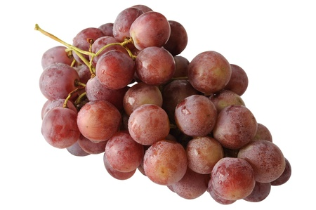 fascicle: Grape raceme isolated on white background Stock Photo
