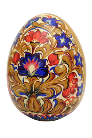 russian easter: Lacquer Easter eggs   Stock Photo