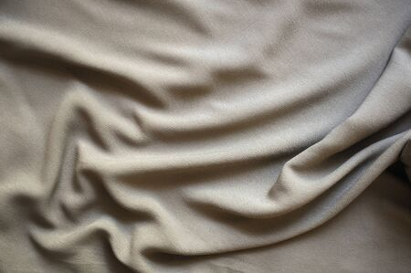 backcloth: Drape background of gray silk fabric