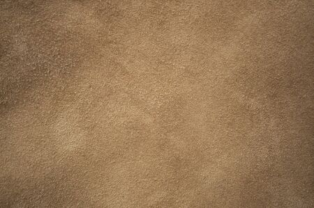 Brown chamois texture, fluffy and soft Stock fotó