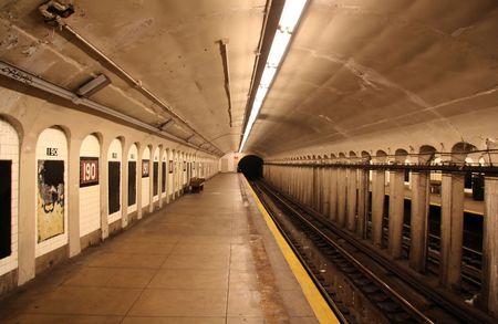 blur subway: New York Subway System