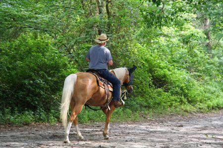 Man Paardrijden