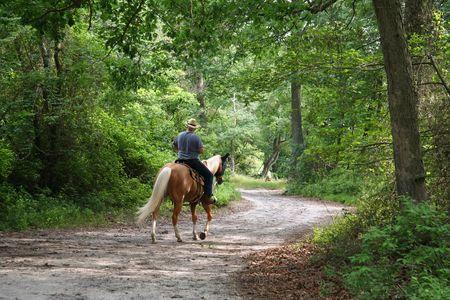 sentier: Man Equitation
