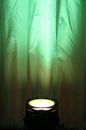 lamp shade: Green Spotlight