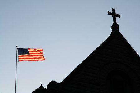 god bless: God Bless America - Church