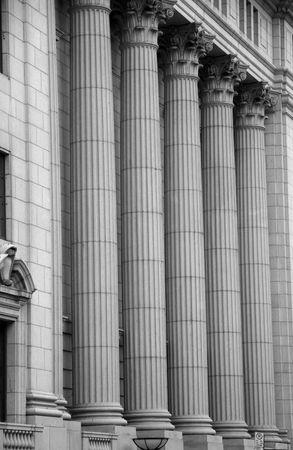 Courthouse Pillars photo