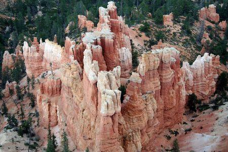 slot canyon: Bryce Canyon National Park - Utah Stock Photo