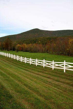 New York Catskill Mountains in Autumn Season