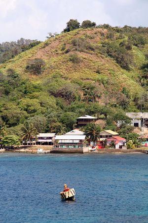 Vacation Spot in Roatan Honduras Coastline - Central America