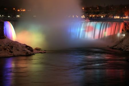 Niagara Falls - Rainbow Reflection - Canadian Side photo
