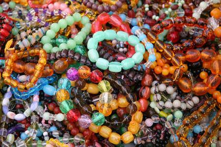 Assortment of Womans Bead Bracelets Фото со стока