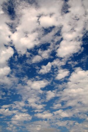 Clouds in the Sky with a Blue Back Drop Stock Photo - 651111
