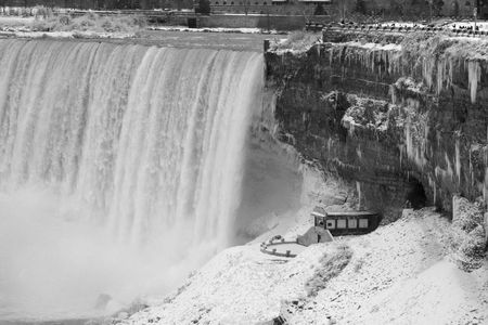 Niagara Falls in the Winter - Horseshoe Falls photo