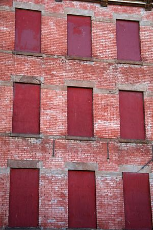 foreclosed: Foreclosed Apartment Building in New York City