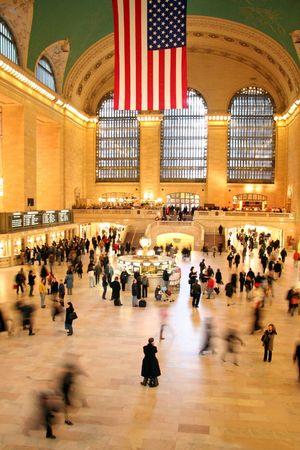 hustle: Grand Central Station di New York City